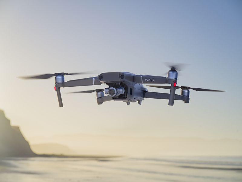 Mavic 2 Zoom - cho thuê flycam