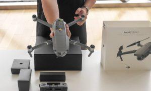 Đập hộp Mavic 2 - Cho thuê flycam