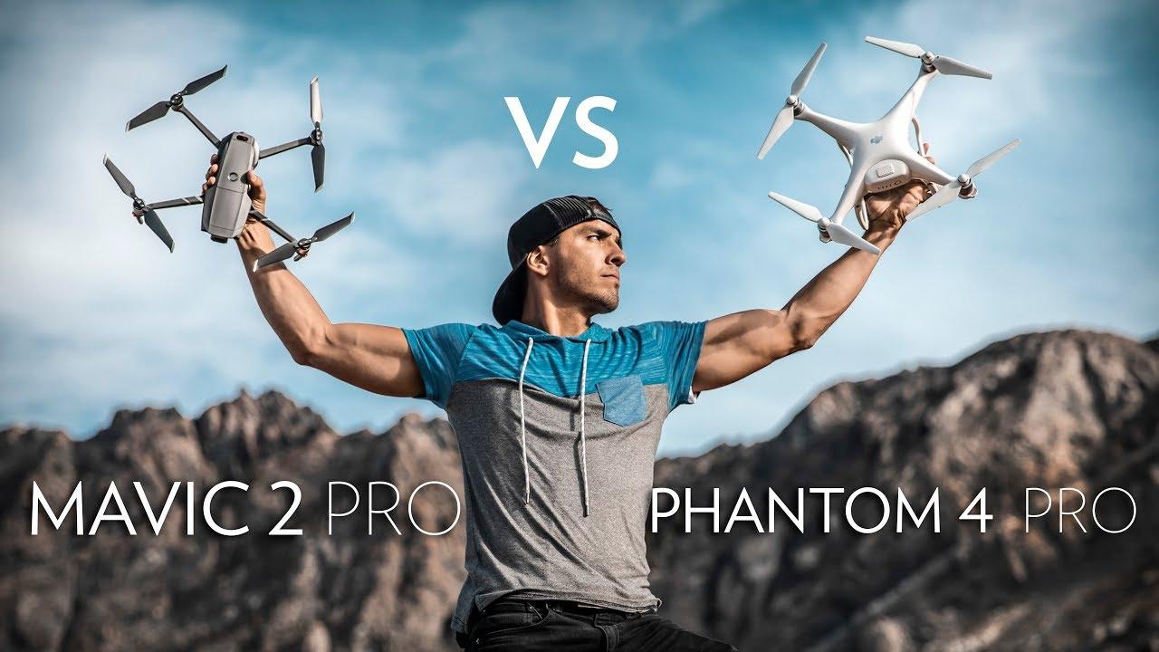 So sánh Mavic 2 và Phantom 4 Pro