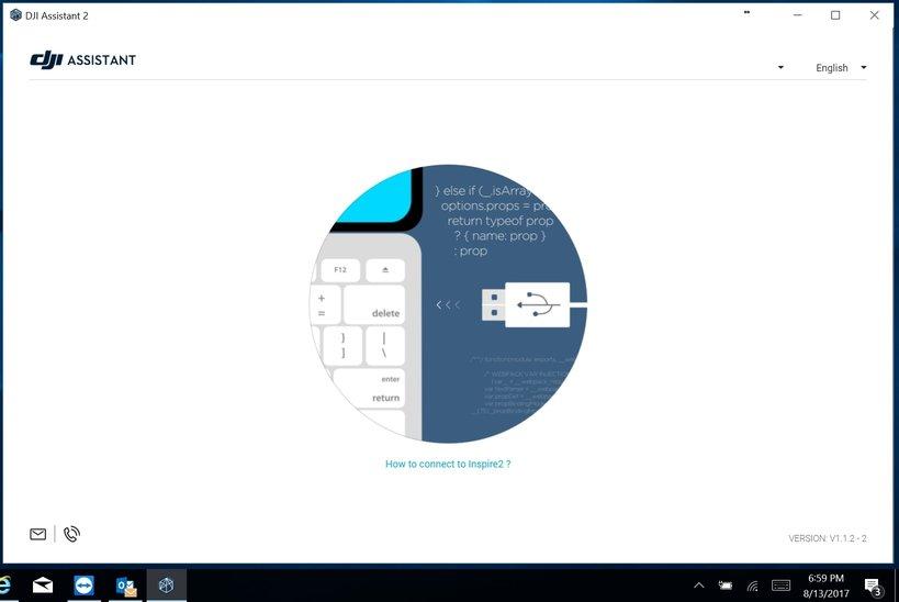 hướng dẫn update firmware Mavic